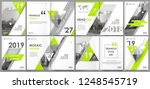 abstract white a4 brochure... | Shutterstock .eps vector #1248545719
