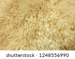 brown shaggy natural sheep fur ...   Shutterstock . vector #1248556990