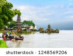 ulun danu bratan temple  bali ...   Shutterstock . vector #1248569206