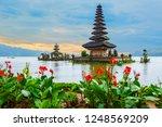 ulun danu bratan temple  bali ...   Shutterstock . vector #1248569209