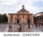 valencia  spain   august 23 ... | Shutterstock . vector #1248572590