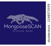 mongoose scan technology logo... | Shutterstock .eps vector #1248573559