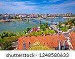 city of novi sad and danube... | Shutterstock . vector #1248580633