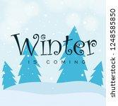 winter design background ...   Shutterstock .eps vector #1248585850