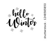 winter design background ...   Shutterstock .eps vector #1248585853