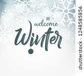 winter design background ...   Shutterstock .eps vector #1248585856