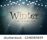 winter design background ...   Shutterstock .eps vector #1248585859