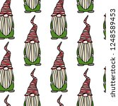 vector seamless pattern with...   Shutterstock .eps vector #1248589453