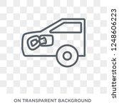 car petrol cap icon. car petrol ... | Shutterstock .eps vector #1248606223