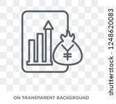 capital account icon. capital... | Shutterstock .eps vector #1248620083