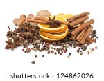 Spices For Mulled Wine On A ...