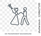 just married icon. just married ...   Shutterstock .eps vector #1248627100