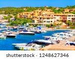 view of porto cervo  italian... | Shutterstock . vector #1248627346