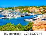 view of porto cervo  italian... | Shutterstock . vector #1248627349