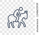 equestrianism icon. trendy... | Shutterstock .eps vector #1248655939