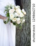 blush wedding flowers  | Shutterstock . vector #1248662710