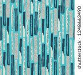 vector seamless pattern. torn... | Shutterstock .eps vector #1248663490