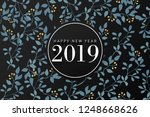 new year greetings | Shutterstock .eps vector #1248668626