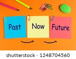past  now and future words on... | Shutterstock . vector #1248704560