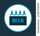 ale box icon colored symbol.... | Shutterstock . vector #1248705040