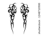 tribal tattoo art designs art. | Shutterstock .eps vector #1248710500
