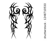 tribal tattoo art designs art. | Shutterstock .eps vector #1248710533