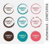 set of vector labels | Shutterstock .eps vector #1248713416