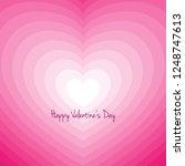 heart in retro movement for... | Shutterstock .eps vector #1248747613