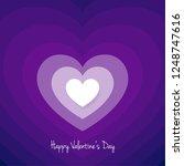 heart in retro movement for... | Shutterstock .eps vector #1248747616
