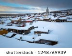 wintertime in roros  mining old ... | Shutterstock . vector #1248769939