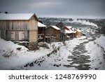 wintertime in roros  mining old ... | Shutterstock . vector #1248769990
