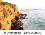 cave of hercules in tangier... | Shutterstock . vector #1248803503