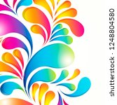 abstract background composition ... | Shutterstock .eps vector #1248804580