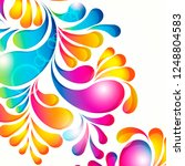 abstract background composition ... | Shutterstock .eps vector #1248804583
