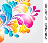 abstract background composition ... | Shutterstock .eps vector #1248804586