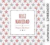 feliz navidad   translated from ... | Shutterstock .eps vector #1248826030