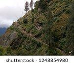 walkway to paro tiger's nest ...   Shutterstock . vector #1248854980