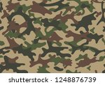 fashionable camouflage pattern. ... | Shutterstock .eps vector #1248876739