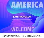 america city wallpaper. vector...   Shutterstock .eps vector #1248893146