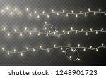 xmas color garland  festive...   Shutterstock .eps vector #1248901723