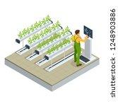 isometric modern smart... | Shutterstock .eps vector #1248903886