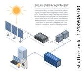 solar energy equipment... | Shutterstock .eps vector #1248906100