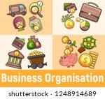 business organisation concept... | Shutterstock .eps vector #1248914689