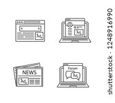 advertising channels linear...   Shutterstock .eps vector #1248916990