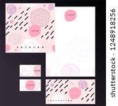 cover of catalog  invitation ... | Shutterstock .eps vector #1248918256