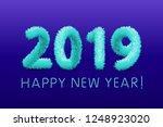 raster copy christmas...   Shutterstock . vector #1248923020