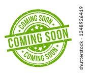 coming soon round green grunge... | Shutterstock .eps vector #1248926419