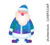 new year greeting card template.... | Shutterstock .eps vector #1248931369