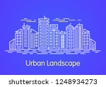 city landscape .downtown...   Shutterstock .eps vector #1248934273