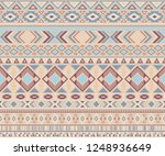 navajo american indian pattern... | Shutterstock .eps vector #1248936649